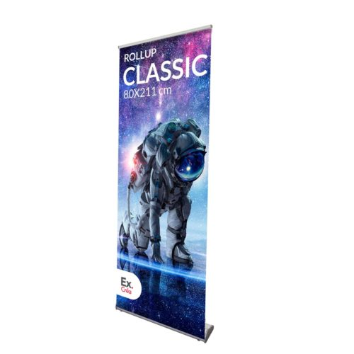 ROLLUP CLASSIC 80 PRINC 1 500x500 - ROLLUP CLASSIC 80X211 cm