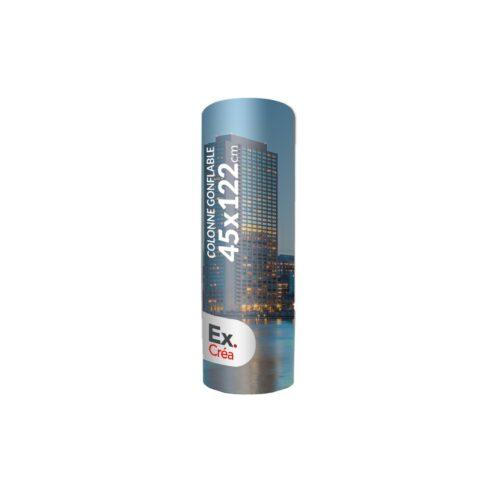 COLONNE GONFLABLE PRINC 45x122 500x500 - COLONNE GONFLABLE Ø45x122cm