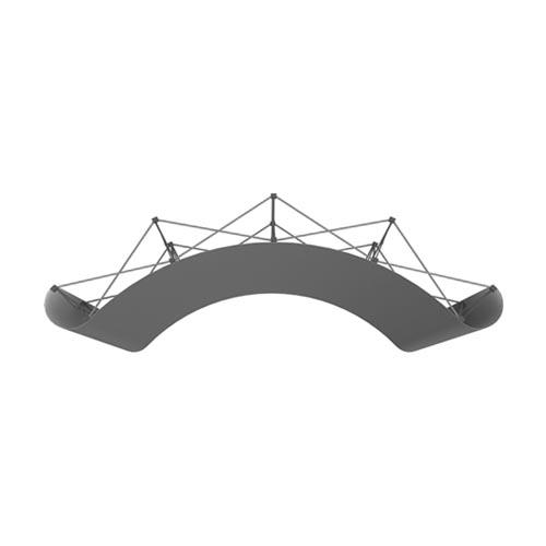 DETAIL 3X4C DESSUS - STAND-PARAPLUIE 3x4 PVC COURBE