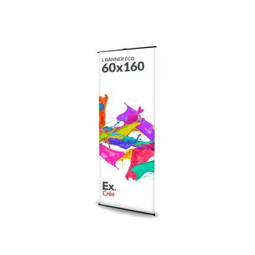 LBANNER ECO 60x160 PRINC 500x500 - TOTEM L BANNER ECO 60X160 cm