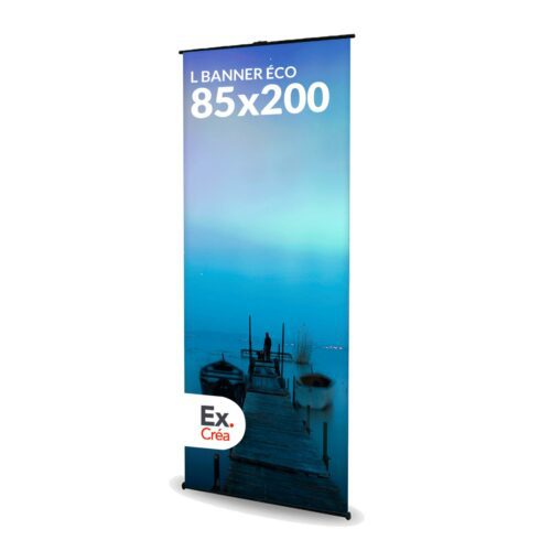 LBANNER ECO 85X200 PRINC 500x500 - TOTEM L BANNER ECO 85X200