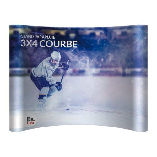 STAND PARAPLUIE COURBE 3X4 PRINC 500x500 - STAND-PARAPLUIE 3x4 PVC COURBE