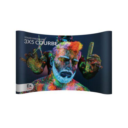 STAND PARAPLUIE COURBE 3X5 PRINC 500x500 - STAND-PARAPLUIE 3x5 PVC COURBE