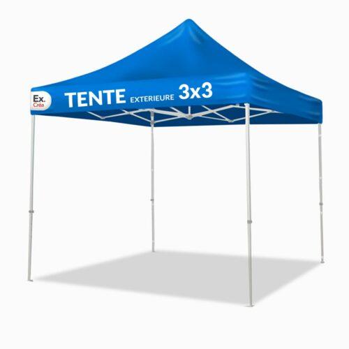 TENTE EXTERIEURE 3x3 500x500 - TENTE PLIABLE  3x3m