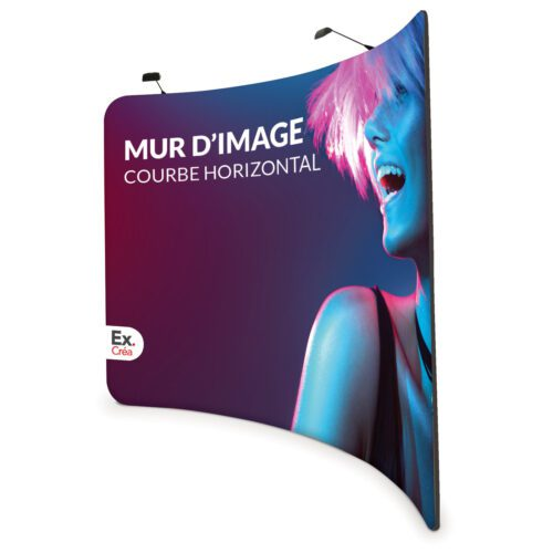 mur image courbe horizontal 500x500 - MUR D'IMAGE COURBE VERTICAL 300 cm
