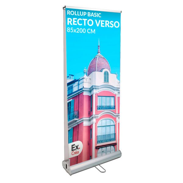 roll up recto verso 85x200 600x600 - ROLLUP BASIC R°/V° 85x200
