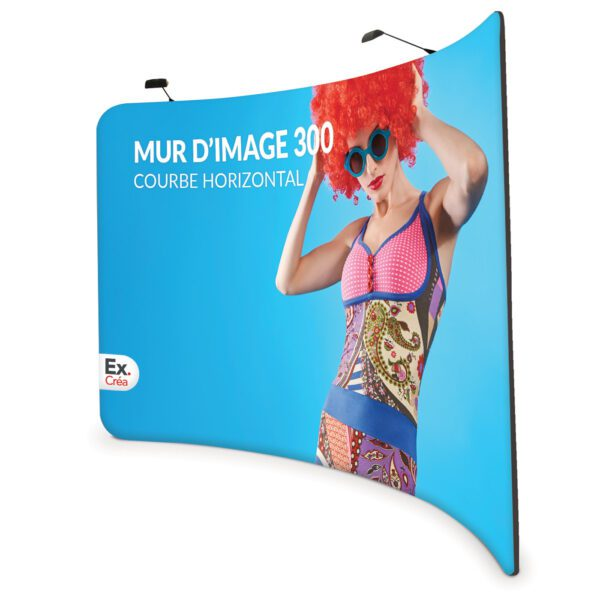 Formulate Curved Horizontal 300 600x600 - MUR D'IMAGE COURBE HORIZONTAL 300 cm