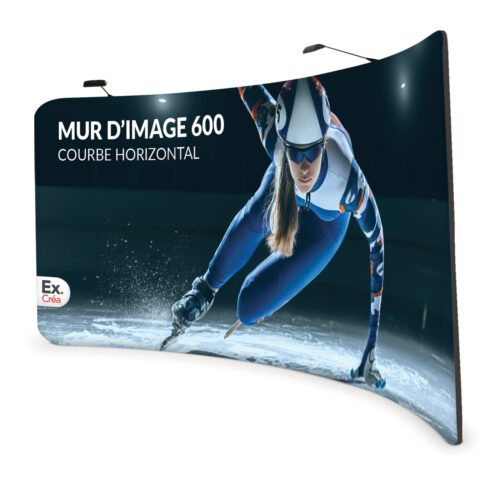 Formulate Curved Horizontal 600 500x500 - MUR D'IMAGE COURBE HORIZONTAL 600