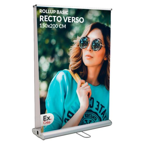 roll up recto verso 150x200 500x500 - ROLLUP BASIC R°/V° 150x200