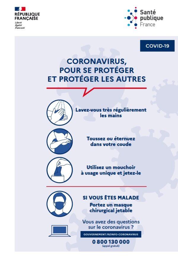 Coronavirus PANNEAU 600x899 - PANNEAU CORONAVIRUS / COVID-19 FORMAT A4 / A3