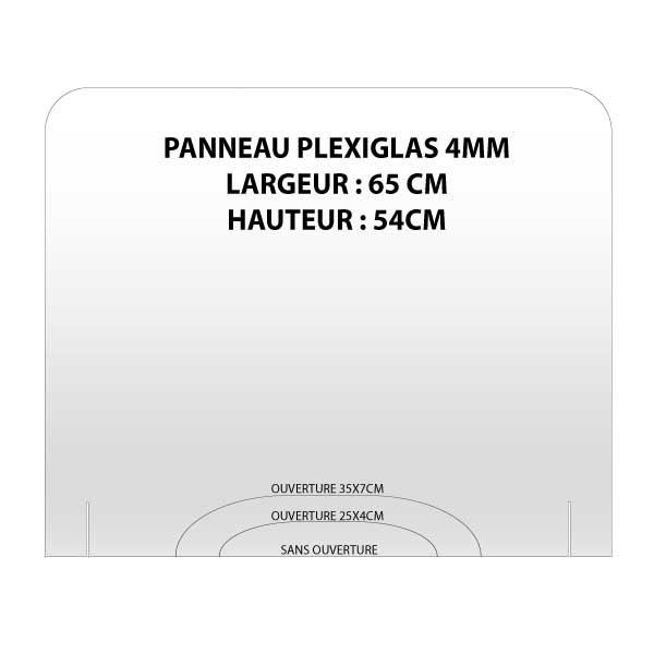 PANO 65X54 600x600 - PANNEAU PLEXIGLAS ANTI-PROJECTION